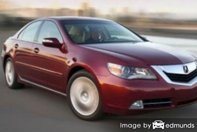 Insurance quote for Acura RL in San Antonio