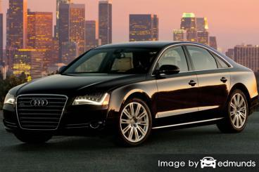 Insurance quote for Audi A8 in San Antonio