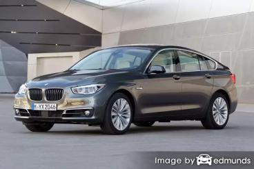 Insurance rates BMW 535i in San Antonio