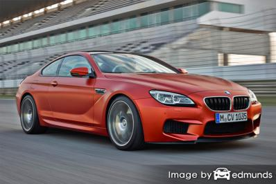 Insurance quote for BMW M6 in San Antonio