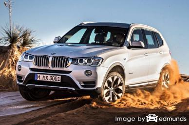 Insurance quote for BMW X3 in San Antonio
