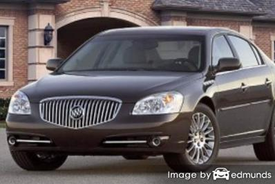 Insurance rates Buick Lucerne in San Antonio