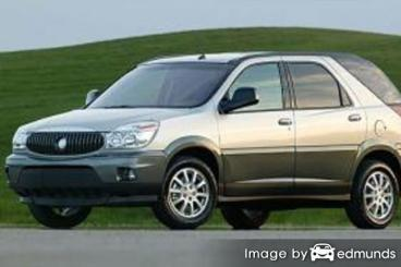 Insurance rates Buick Rendezvous in San Antonio