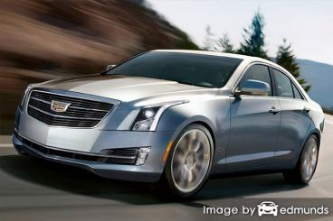 Insurance rates Cadillac ATS in San Antonio