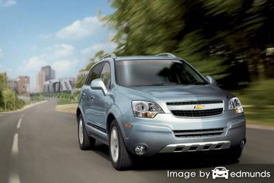 Discount Chevy Captiva Sport insurance