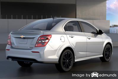 Insurance quote for Chevy Sonic in San Antonio