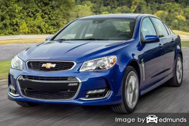 Insurance rates Chevy SS in San Antonio
