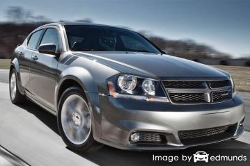 Insurance quote for Dodge Avenger in San Antonio