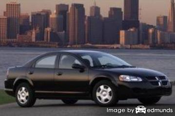 Insurance rates Dodge Stratus in San Antonio