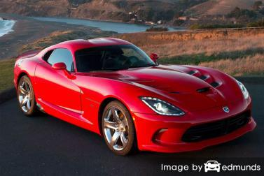Insurance quote for Dodge Viper in San Antonio