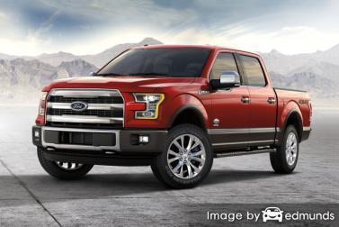 Insurance rates Ford F-150 in San Antonio