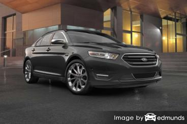 Insurance quote for Ford Taurus in San Antonio