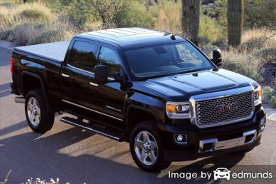Insurance quote for GMC Sierra 2500HD in San Antonio