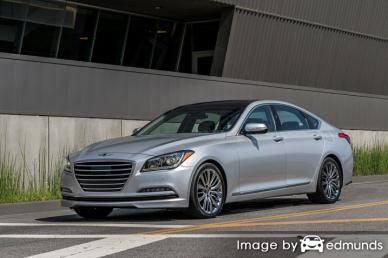 Insurance rates Hyundai G80 in San Antonio