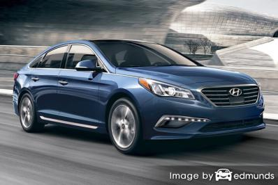 Insurance quote for Hyundai Sonata in San Antonio
