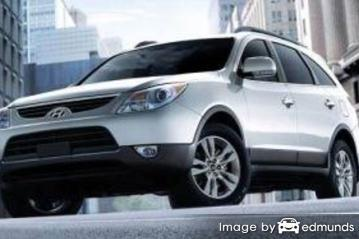 Insurance quote for Hyundai Veracruz in San Antonio