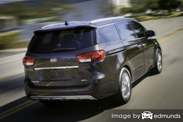 Insurance rates Kia Sedona in San Antonio