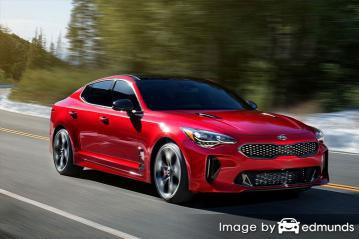 Insurance rates Kia Stinger in San Antonio