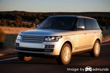 Insurance quote for Land Rover Range Rover in San Antonio