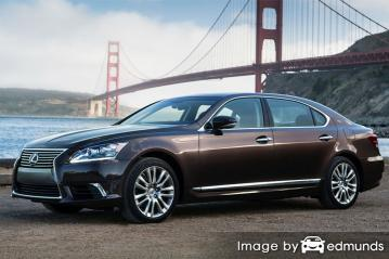 Insurance quote for Lexus LS 600h L in San Antonio