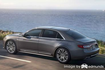 Insurance quote for Lincoln Continental in San Antonio