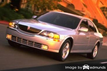 Insurance rates Lincoln LS in San Antonio