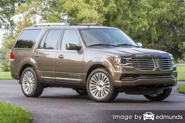 Insurance quote for Lincoln Navigator in San Antonio