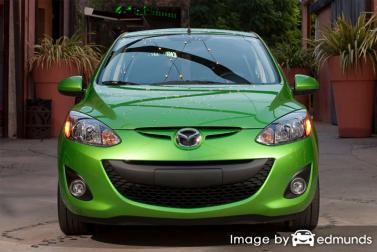 Insurance quote for Mazda 2 in San Antonio