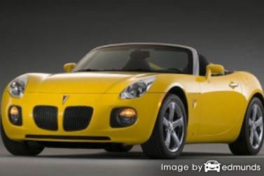 Insurance quote for Pontiac Solstice in San Antonio