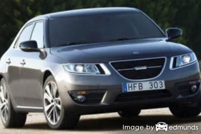 Insurance rates Saab 9-5 in San Antonio
