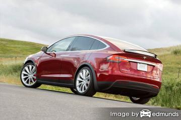 Insurance quote for Tesla Model X in San Antonio