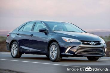 Insurance rates Toyota Camry Hybrid in San Antonio