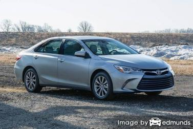 Insurance quote for Toyota Camry in San Antonio