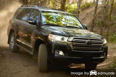 Insurance quote for Toyota Land Cruiser in San Antonio