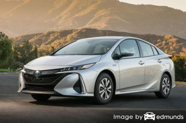 Insurance quote for Toyota Prius Prime in San Antonio