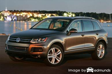 Insurance rates Volkswagen Touareg in San Antonio